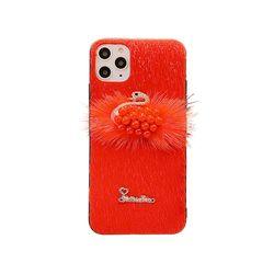 아이폰11프로 스완 퍼 러블리 실리콘 케이스 P413