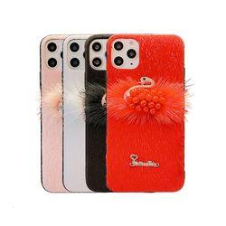 아이폰11프로맥스 스완 퍼 러블리 실리콘 케이스 P413