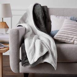 심플 양모 극세사 블랑켓 담요 이불 9종 150x200cm (퀸사이즈)