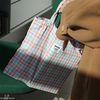 빈티지 체크 미니 가방(멀티 컬러)