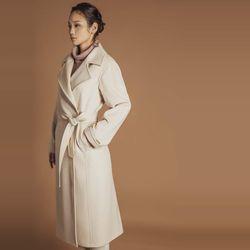 GOBI 고비 캐시미어 여성 벨트롱 코트 (캐시미어 100)