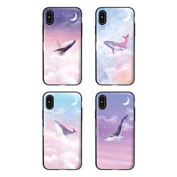 아이폰11ProMax TCB-달빛고래 카드 범퍼 케이스