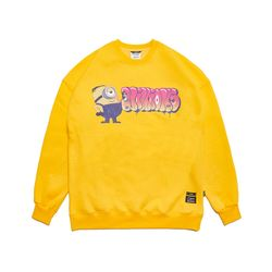MINIONS OVERSIZED HEAVY SWEAT CREWNECK YELLOW