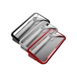 아이폰6 마그네틱 강화유리 커버 메탈 케이스 P261
