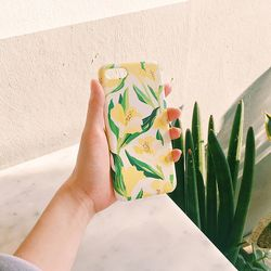 Sunshine Bloom ivory for phonecase 카드범퍼케이스 (전기종)