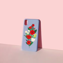 Bloom with sun Serenityblue for phonecase 카드범퍼케이스