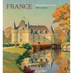 2020 캘린더 France: Vintage Travel Posters