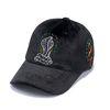 CLASSIC VELVET BASEBALL CAP BLACK