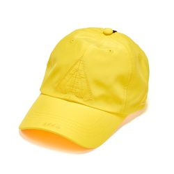 WASHED TECH BASEBALL CAP YELLOW