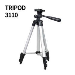 TRIPOD 3110 4단 접이식 휴대용 삼각대 360도 회전