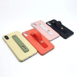 나인어클락 컬러 슬림핏 케이스 + 컬러 스트랩-아이폰X XS