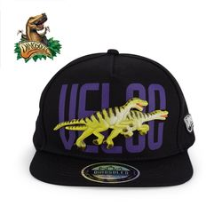 3D 벨로키랍토르 공룡모자 스냅백