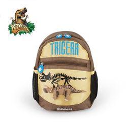 베이직 3D 트리케라톱스 가방 백팩
