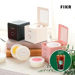 [스타벅스 기프티콘 증정] [FIKA]피카 캡슐 캔들워머+캡슐캔들3개+쇼핑백 선물세트