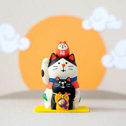2020 쥐띠 안녕복고양이 피규어 새해 한정판