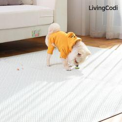 리빙코디 PVC 애견매트 강아지매트 슬개골 탈구예방