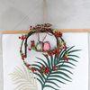 열매부엉이 리스 소 2color