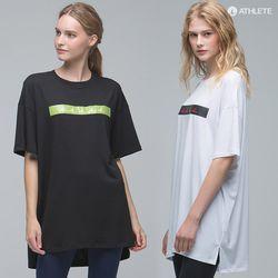 오버핏 Y존 힙커버 HRT18 테일러 티셔츠