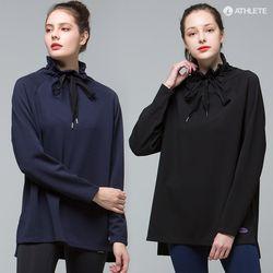러블리한 하이넥 티 HRT27 에스텔라 롱 티셔츠