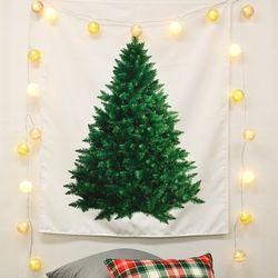 크리스마스 트리 패브릭포스터 100x120cm