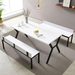 스토리홈  모던 테이블 벤치 세트 1600