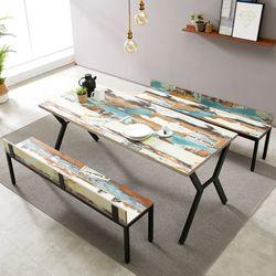 스토리홈  모던 테이블 벤치 세트 1800