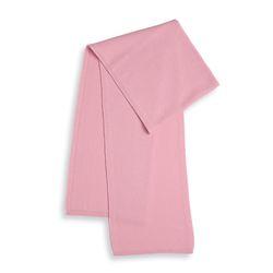 캐시미어 니트 머플러 핑크