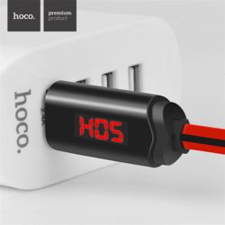 호코 LED 5핀 디스플레이 고속 충전 데이터 케이블