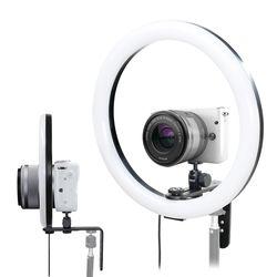 본젠 KL-120C 포터블 카메라 스마트폰 LED 링라이트 브라켓