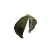 two tone hairband (khaki)