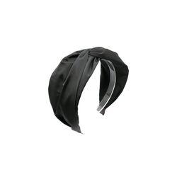 simple twist hairband (charcoal)