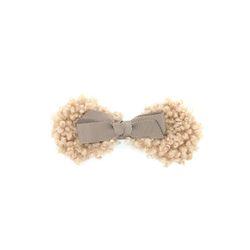 cute ribbon wool hairpin