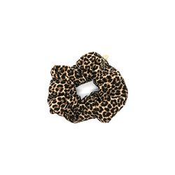 leopard hair chouchou