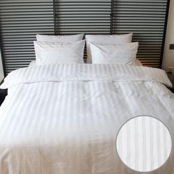 프리미엄 호텔베딩 면60수 스트라이프30mm Q커버세트