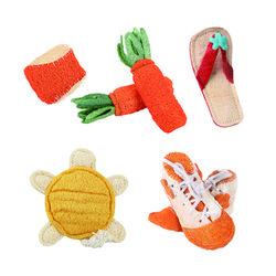 (봉봉펫닷컴) 애견 수세미 장난감 -거북이