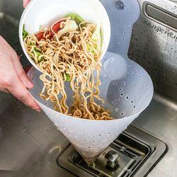 고깔 싱크대 거름망 필터 배수구 음식물