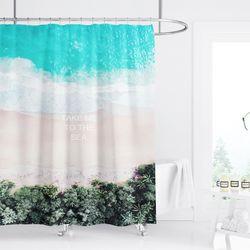 곰팡이 안생기는 패브릭 욕실 샤워 커튼