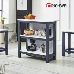 네이비 홈바 테이블 900 (의자별도)