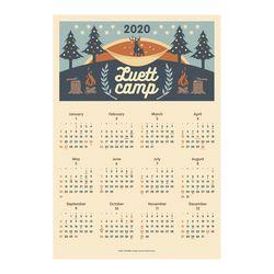 2020 포스터 달력