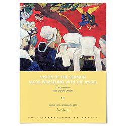 중형 패브릭 포스터 명화 유명한 그림 액자 폴 고 갱 1