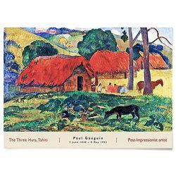중형 패브릭 포스터 풍경 벽에거는 천 그림 폴 고 갱 7