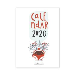 2020 달력 CALENDAR 25 Cozy and Cute Hand Drawn Cups
