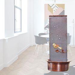 [썸네일 텍스트 불가] 실내분수대 이앤미니폭포 자연가습기 미세먼지제거 국산 수제