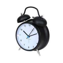매트블랙 알람시계