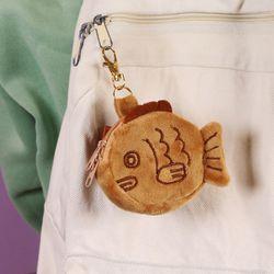 붕어빵 동전지갑 키링