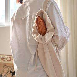 블랭크 광목 브레드백(바게트백) . 에코백 (RM 265001)