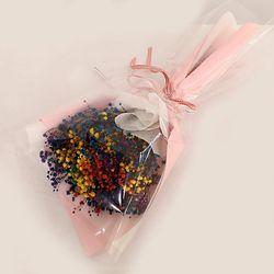 꽃다발 입학 졸업 기념일 선물 프리져브드안개꽃다발 볼레로