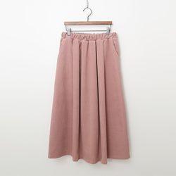 Corduroy Full Long Skirt
