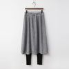 Gimo Pleats Skirt Leggings