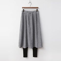 Gimo Pleats Skirt Leggings